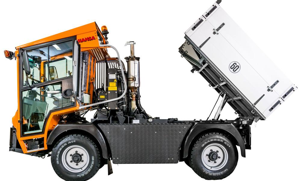 Kommunalfahrzeug APZ 1003 Fahrerhaus hydraulisch kippbar