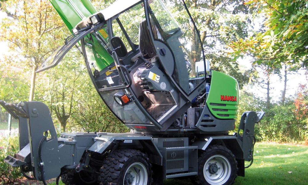 APZ 531 Hydraulisch kippbare Fahrerkabine