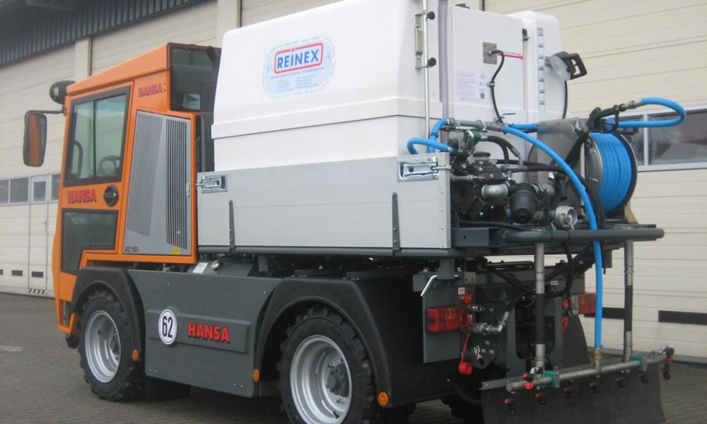 Kommunalfahrzeug APZ 1003 Spritzanlage für Salzlauge