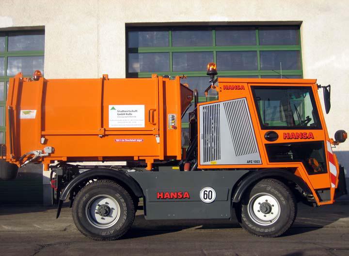APZ 1003 Hagemann Müllpresscontainer